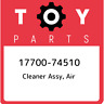 17700-74510 Toyota Cleaner assy, air 1770074510, New Genuine OEM Part
