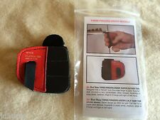 Wilson Black Widow Leather 3 finger under Shooting Tab Left Hand Ex-Large