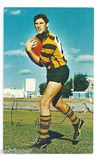 1971 Mobil Football Card (7 of 40) Peter HUDSON Hawthorn Near MINT