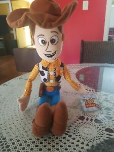 Woody Plush Toy Story 4 Disney Pixar Brand New With Tags
