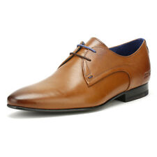 Ted Baker Mens Peair Formal Shoes Tan Brown Leather Lace Up Smarts