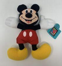 "Applause Disney Mickey Mouse 7"" Beanbag Plush Stuffed Animal Toy W/Tags"