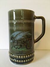 "WADE Irish Porcelain Tankard Beer Stein Mug ""Irish Jaunting Car"""