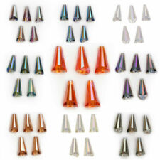 10x20mm Glass Crystal Faceted Pagoda Bottle Cap Teardrop Beads Spacer Crafts