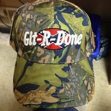 Git-R-Done Larry the Cable Guy Green/Brown/Blue Cammo Hat