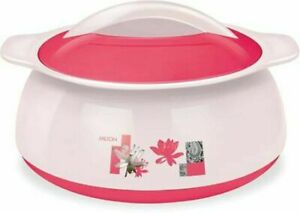 MILTON Delish Insulated Casserole Stainless Steel Color Red Size 1500 ML