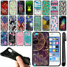 For Apple iPod Touch 5 5th 6 6th Generation Black TPU SILICONE Case Cover + Pen