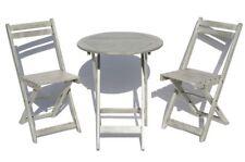 Set da Balcone 3-teilig Set da Bar Soggiorno Mobili da Giardino Tavolo e 2 Sedie