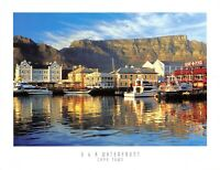 South Africa Postcard, U & A Waterfront, Cape Town, Harbour, Boats EJ6