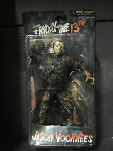 """NECA Friday The 13th 7"""" Jason Voorhees Cult Classics Action Figure New"""