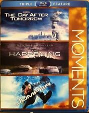Own The Moments Double Feature Day After Tomorrow The Happening Blue Ray