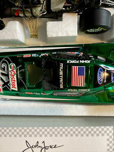 john force Autographed  2011 Mustang funny car 1 Of500 ,17 X Champion L27