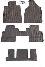 07-17 GMC Acadia Premium All Weather Mat Package w/ Captains Chair Titanium OEM