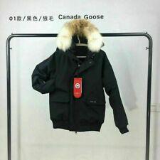 Vintage Arctic Abrigo Chaqueta Parka Plumas De Ganso Con Capucha de piel de coyote bombardero Chilliwack