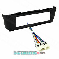 99-7414 CAR RADIO ISO-DIN STEREO INSTALL DASH KIT W/ WIRES FOR NISSAN SENTRA