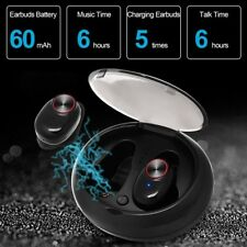 TWS Wireless Headsets HDBluetooth 5.0 Stereo Sound Twins Stereo Earphone case