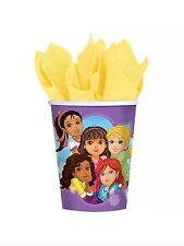 Dora and Friends Party Supplies Paper 9oz Cups-8ct.