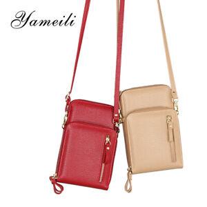 Umhängetasche Schultertasche Damentasche Crossbody Smartphone Handytasche Tasche