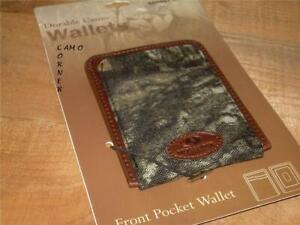 Mossy Oak Break Up Camo Front Pocket Wallet Billfold Cardholder