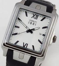 Cerruti 1881 Herren Uhr Watch Urbino Lederband schwarz NEU CRC015A212C C205