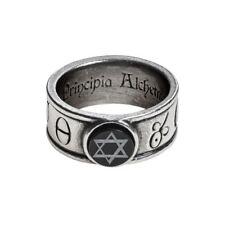 Anillo de estaño alquimia gótica principia alchemystica Totalmente Nuevo