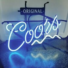 "Vintage Rare Coors Light Original Beer Bar Neon Sign | Mancave | 19"" x 14"""