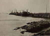 1899 Aufdruck Colonial South Afrika Jetty Von Railway Embankment Port Elizabeth