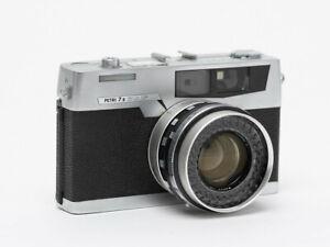 Petri 7s Rangefinder 35mm Camera, Meter Works