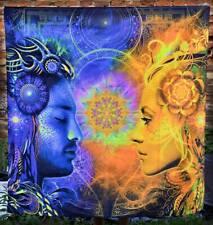 Yoga Esoteric Meditation Tapestry Art Spiritual Painting Wall Hanging Goatrance