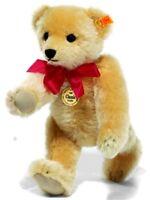 Steiff 1909 Classic Teddy Bear - blond mohair replica / growler - 35cm - 000379