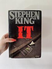 IT - Stephen King / Hardback / True 1st Edition US Viking Import 1986 / RARE