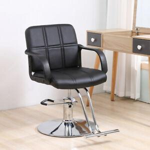 Classic Hydraulic Barber Chair Salon Hair Work Station Beauty Spa Equipment US