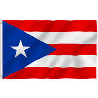 New Design 3'x5' Ft Puerto Rico Rican State Flag Polyester Brass Grommets Flags
