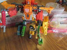 Transformers Landfill 4 pc Set Combiners RID Wedge Grimlock Hightower Heavy Load