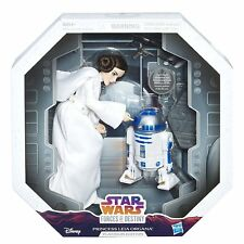 Hasbro Star Wars Forces of Destiny PRINCESS LEIA R2-D2 PLATINUM EDITION IN STOCK