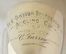 Argento Sterling Pesca TROFEO CALICE (281gm). Boston Lincs PESCA SPORTIVA Cup 1910.