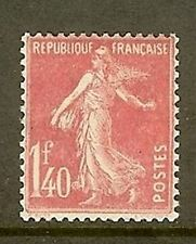 "FRANCE STAMP TIMBRE N° 196 "" SEMEUSE FOND PLEIN 1F40 ROSE "" NEUF xx SUPERBE"