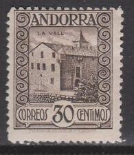 1929 ANDORRA ESPAÑOLA. LA VALL 30 CTS*. 166 €