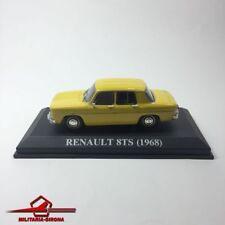 RENAULT 8TS (1968) YELLOW. ALTAYA IXO 1.43 SCALE. NO BOX