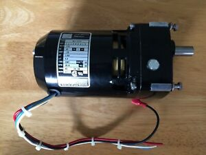 GEAR MOTOR    60:1    110 / 115v  CNC MILLING OR WELDING TURN TABLE