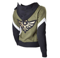 The Legend of Zelda Hoodie Cosplay Sweater Embroidered Cloth Anime Jacket Coat