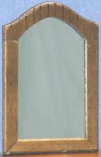 Dollhouse Miniatures 1:12 Scale Walnut Bedroom Mirror  #CLA10085