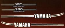 YAMAHA RD350 1974 PAINTWORK RESTORATION DECAL SET