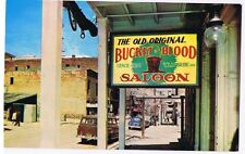 BUCKET OF BLOOD SALOON - VIRGINIA CITY NEVADA - POSTCARD # C3598