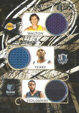Mike Bibby Jason Terry Gilbert Arenas 2007-08 Luxury Box 6 Relic #/149