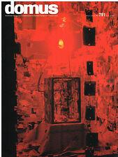 Domus Magazine No. 791 - March 1997 Italian Architecture and Design