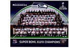 Seattle Seahawks Super Bowl XLVIII Champions Authentic 8x10 Color Team Photo NFL