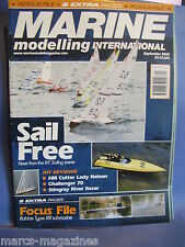 MODEL BOATS MARINE MODELLING SEPTEMBER 2005 XXI SUB HM LADY NELSON CHALLENGER 70