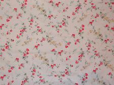 "Liberty arte tessuti "" Elizabeth A AL METRO 100cm TANA Lawn cotone Cremisi"
