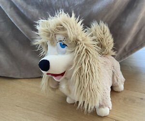 Disney Store Plushie Plush Peg Lady And The Tramp Stamped Rare Dog Toy Cuddly